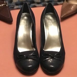 Style & Co Navy Wedge. Size 9.5